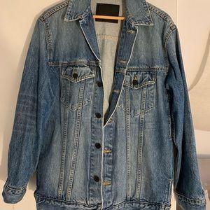Like New Alexander Wang oversized denim jacket